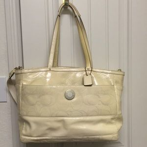 Authentic Coach Diaper Bag